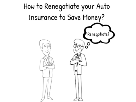 How to renegotiate your auto insurance to save money?