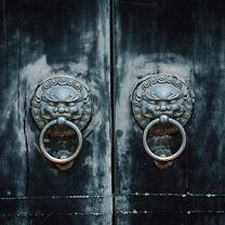 antique oriental door knocker.jpg