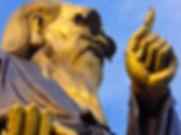 Lao-tzu statue in Palace of Heaven on la