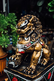 Traditional Chinese Taoism style Lion st
