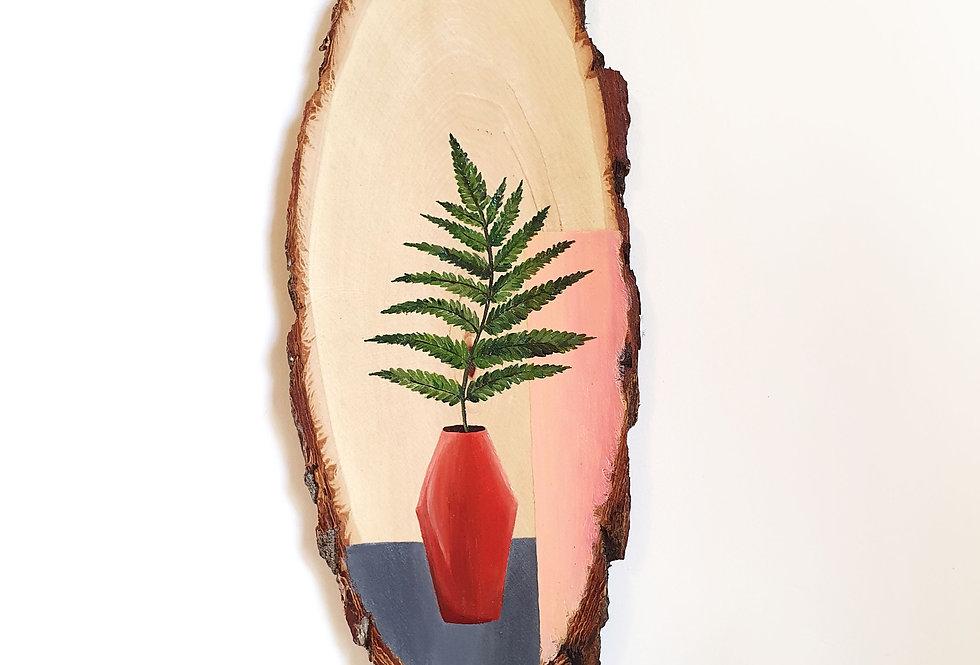 ציור עץ - שרך טרופי