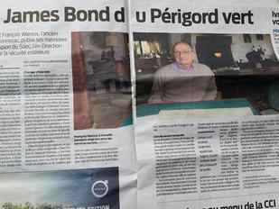 """François Waroux, """"le James Bond du Périgord vert"""""""