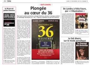 Histoire du 36 illustrée dans L'Alsace