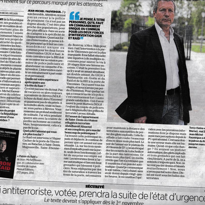 Article JM Fauvergue Le Parisien-2