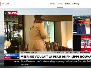 Jean-Marc Simon sur CNEWS le 2 novembre