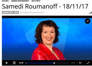 Jean-Michel Fauvergue chez Anne Roumanoff le 18/11