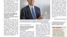 Interview de Raphaël Rossello pour L'opportunité du covid 19 dans La Nouvelle République
