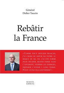 Didier Tauzin, Rebâtir la France, Mareuil éditions