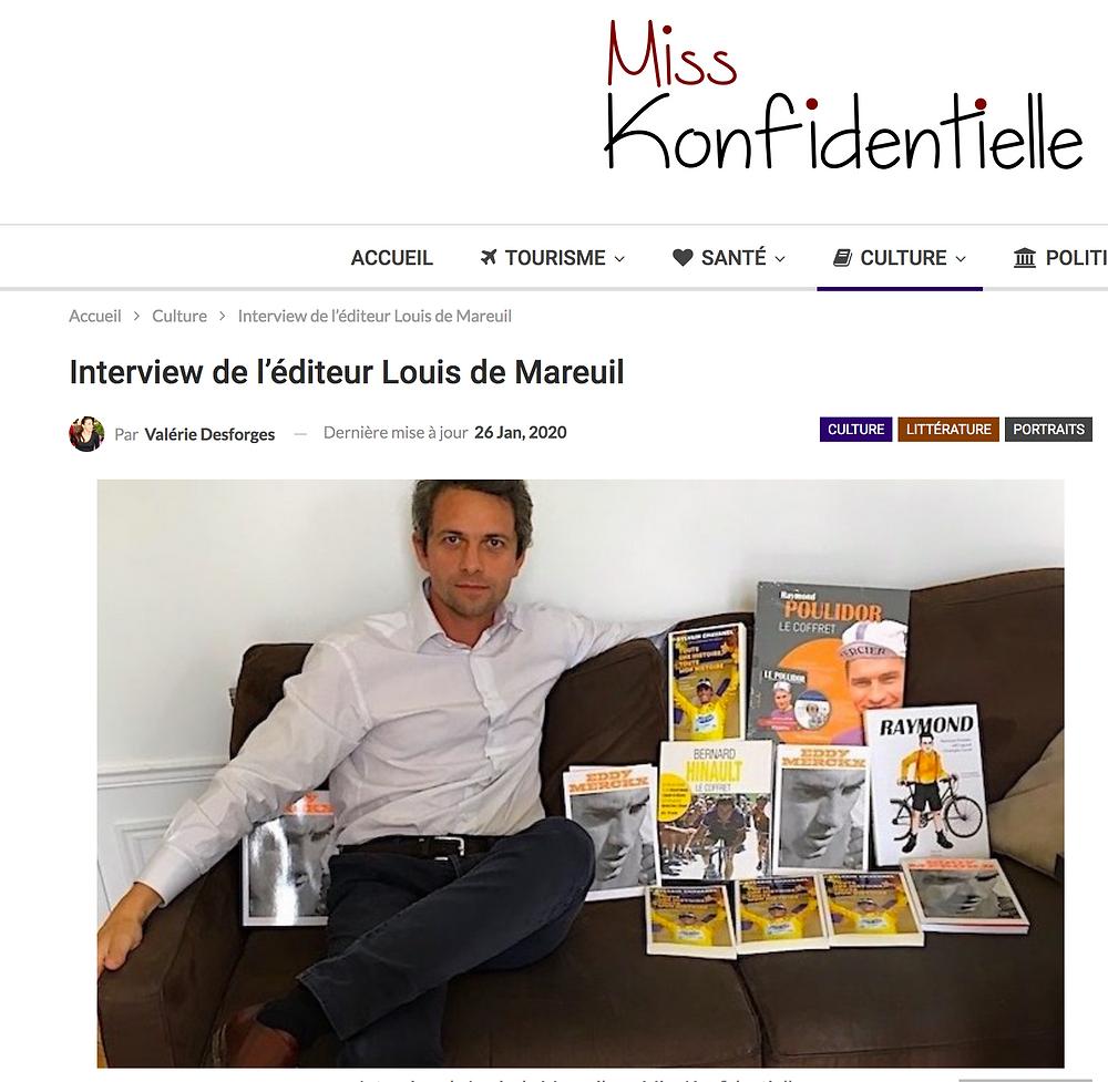 Retrouvez l'interview complète sur le site de Miss Konfidentielle