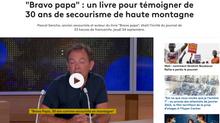 Interview de Pascal Sancho pour son livre Bravo Papa sur France Info