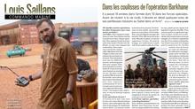 Louis Saillans et les coulisses des forces spéciales dans VSD