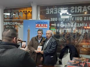 Soirée de lancement du livre de Marcel Campion : LE PARIS DU BON SENS, hier soir à la permanence LIB