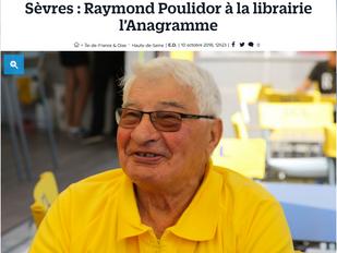 Raymond Poulidor et Daniel Pautrat ce soir à Sèvres !
