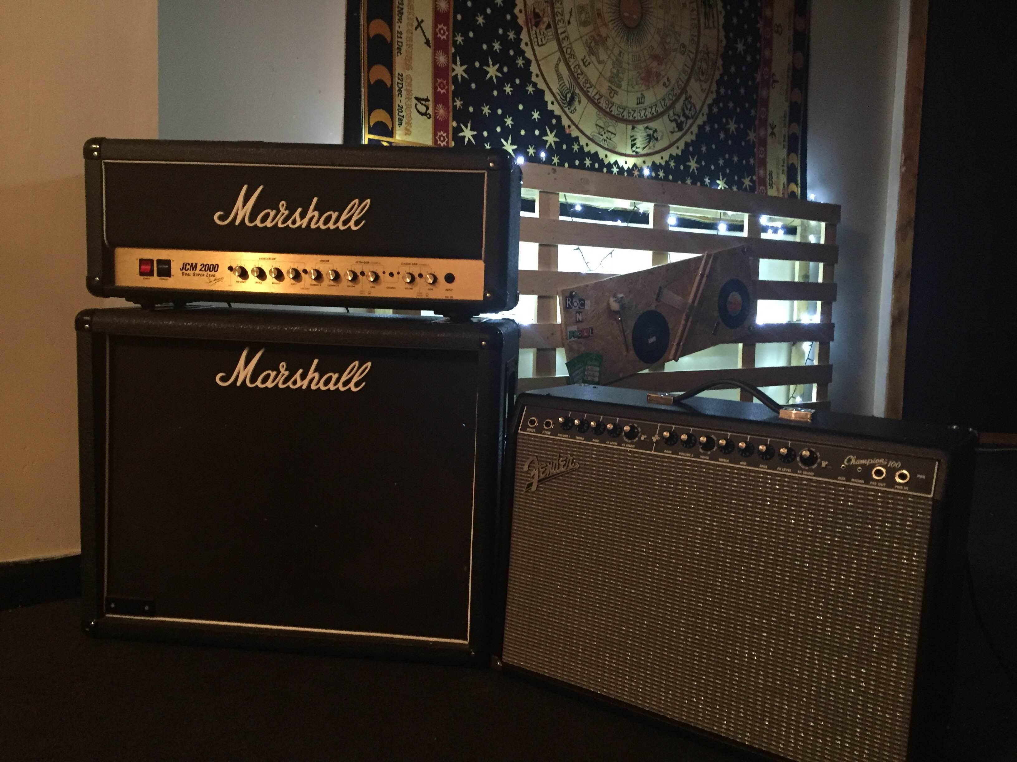 Marshall & Fender