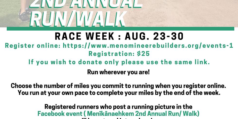2nd Annual Run/Walk