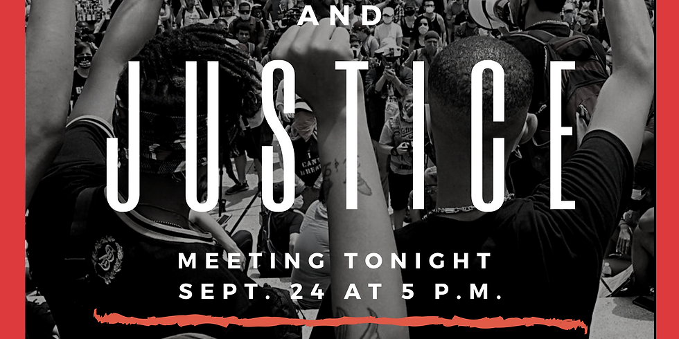 Racial Equity & Justice Planning Meeting