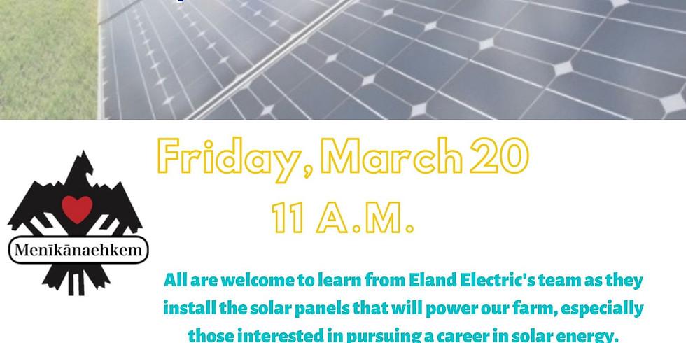CANCELLED! Solar Panel Installation