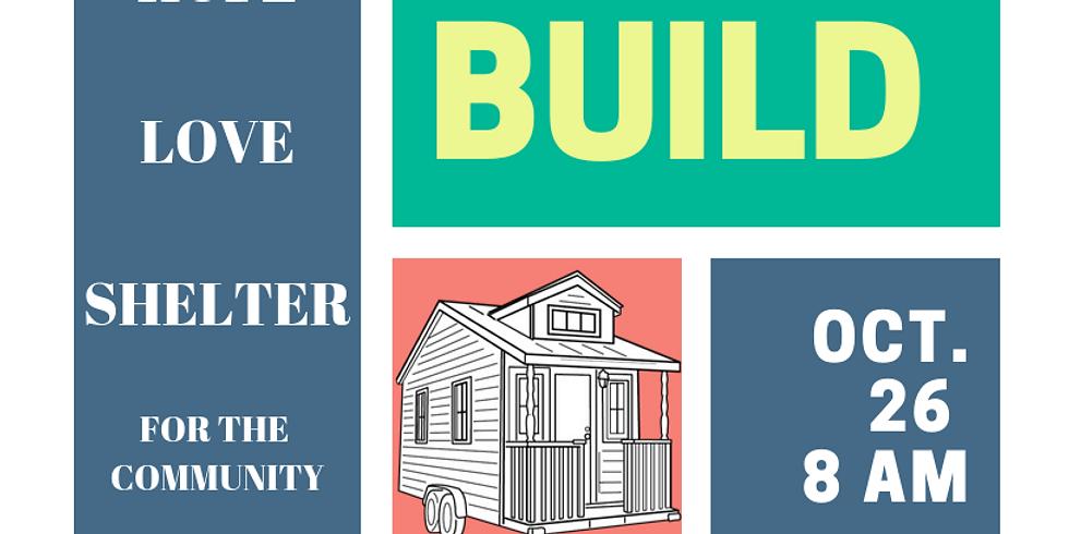 Menīkānaehkem Tiny Home Build