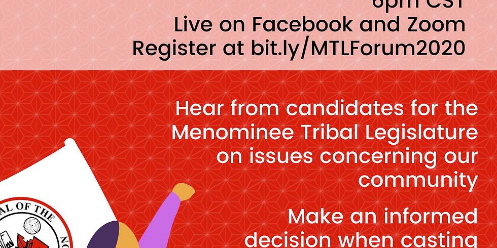 MTL Candidate Forum