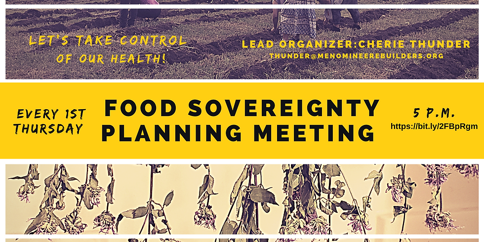 Food Sovereignty Planning Meeting