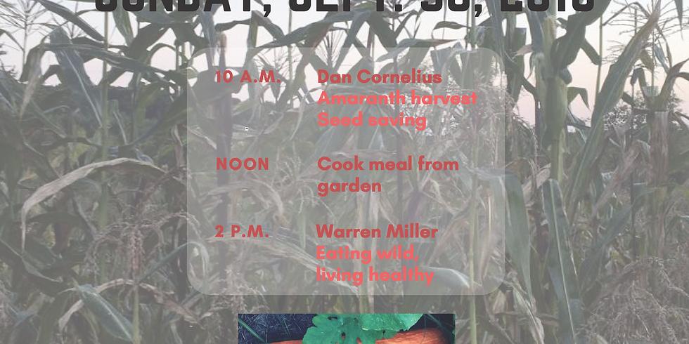 Fall Harvest Workshop