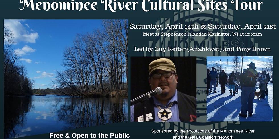 Menominee River Cultural Sites Tour