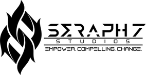 Seraph 7 Studios logo black