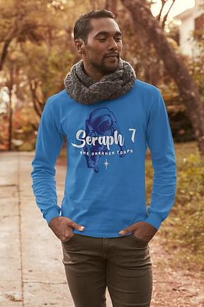 Seraph 7 Studios Merchandise Dreamer Corps long sleeve tshirt blue