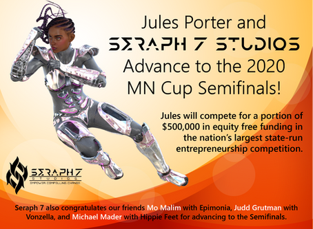 Jules Porter & Seraph 7 Studios Advance to the MN Cup Semifinals!