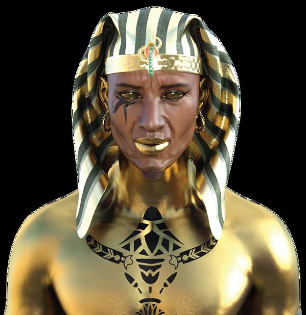 Asar: The Golden Man by Seraph 7 Studios
