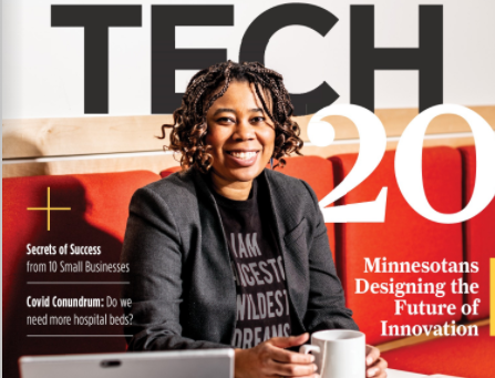 Jules Featured on Twin Cities Business!