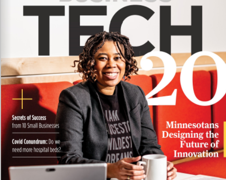 Jules Featured in Twin Cities Business!