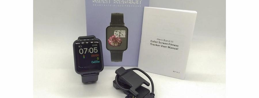 Smartwatch Relógio Inteligente Hero Band Preto - Hero Band B57