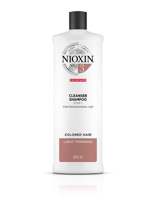 NIOXIN, Cleanser Shampoo (1000ML)
