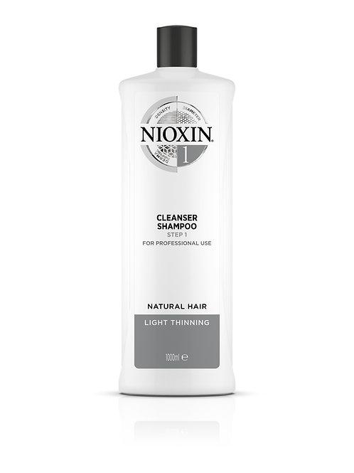 NIOXIN 1 Shampoo - Cleanser (1000ML)