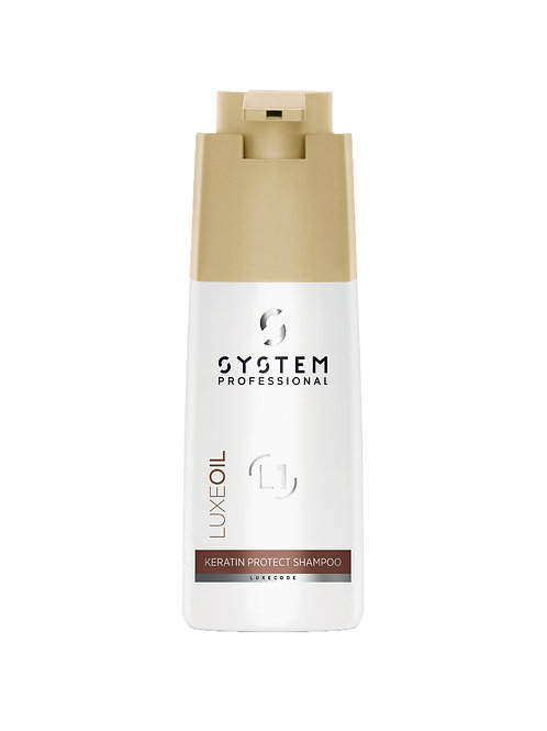 System Professional Luxe Oil Shampoo - Keratin Protect