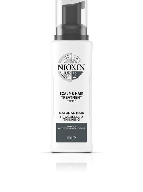 NIOXIN 2 Treatment - Scalp & Hair (100ML)