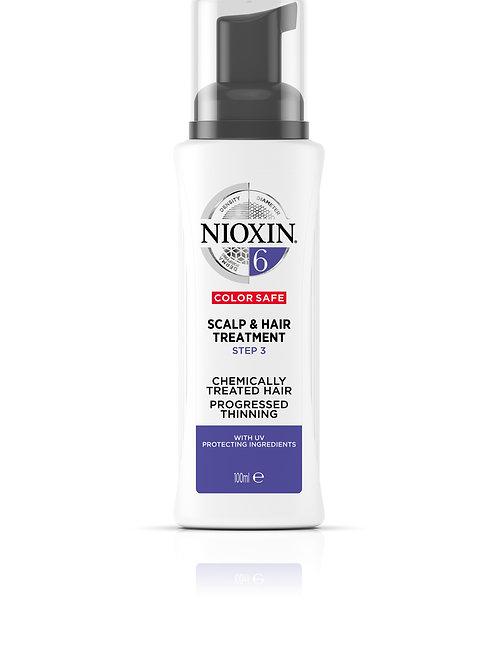 NIOXIN 6 Treatment - Scalp & Hair (100ML)