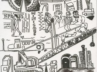 ロンドン式絵日記