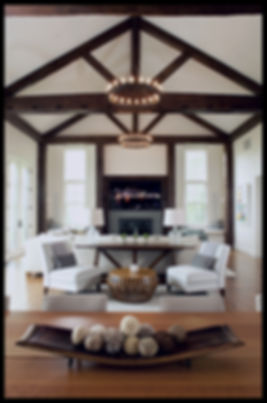 interior design family living room transitional