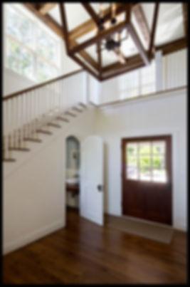interior design foyer transitional