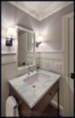 interior design transitional traditional bathroom powder