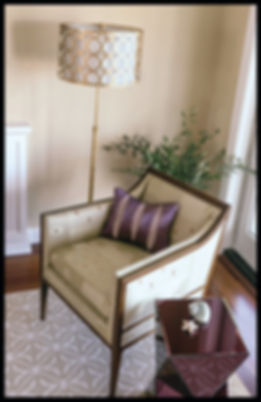 interior design transitional living room