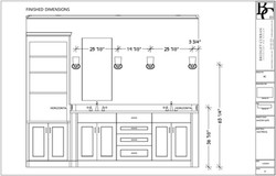 Electrical Elevation Drawing