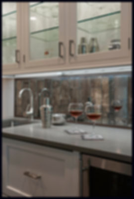 interior design transitional traditional bar