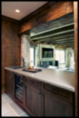 interior design family transitional bar barn