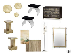 Design Selections Presentation NYC Apartment Guest Bedroom