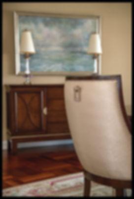 interior design transitional dining room