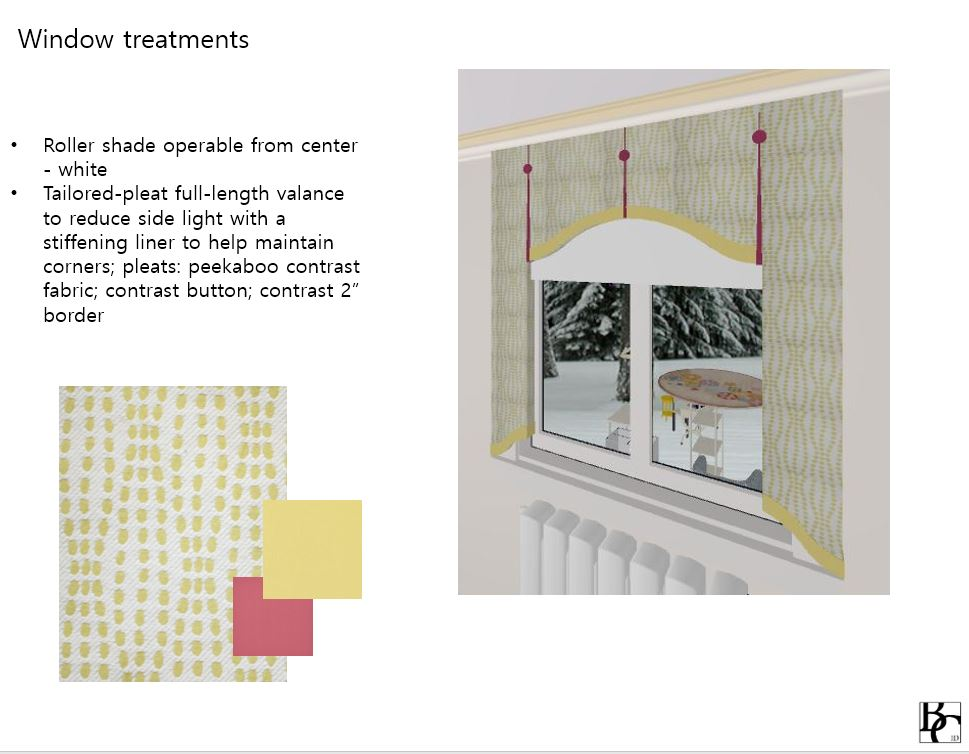 Custom Window Treatment Design