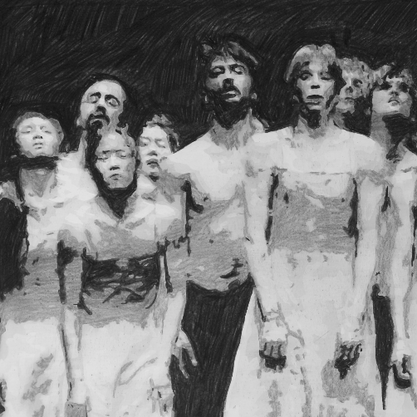 The Passion (9) (after Pina Bausch)